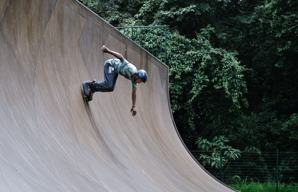 roller acrobatique